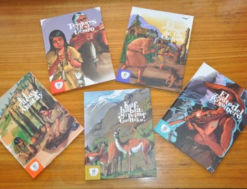 Libros de cuentos inspirados en patrimonio local
